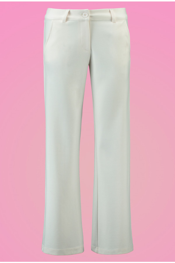 Baggy Trousers Punti White