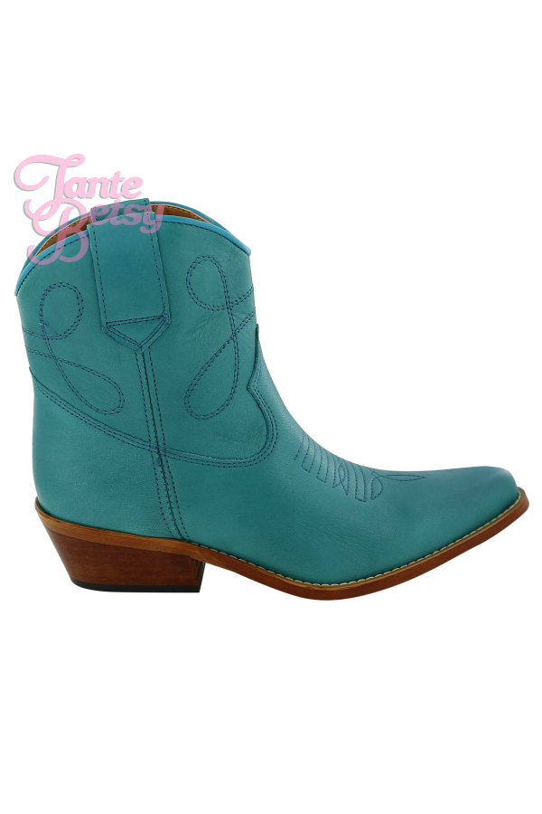 DWRS Western laars Low Texas Turquoise