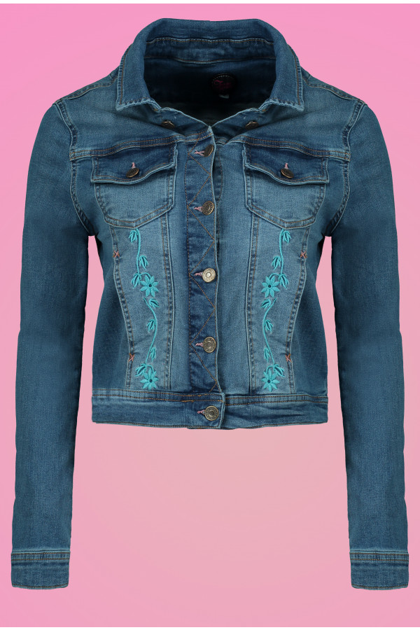 Denim Jacket Butterfly
