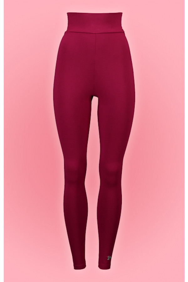 HIGH WAIST LEGGING CERISE