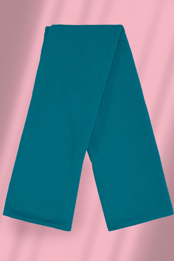 Scarf Linnen Cotton Aqua