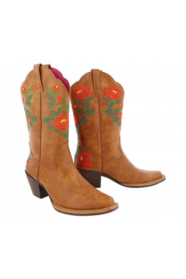 Betsy Boot Cowgirl Brown