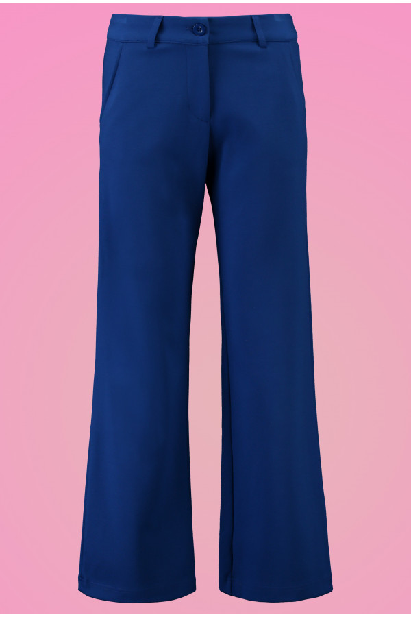 Baggy Trousers Punti Blue