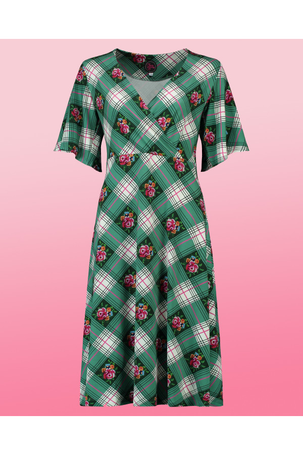 Dress Havannah Long Cottage Green