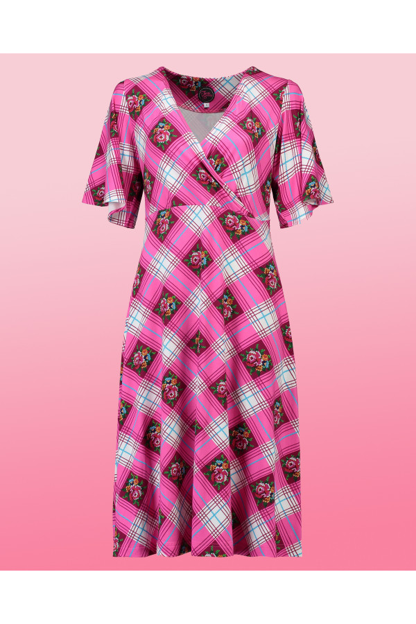 Dress Havannah Long Cottage Pink