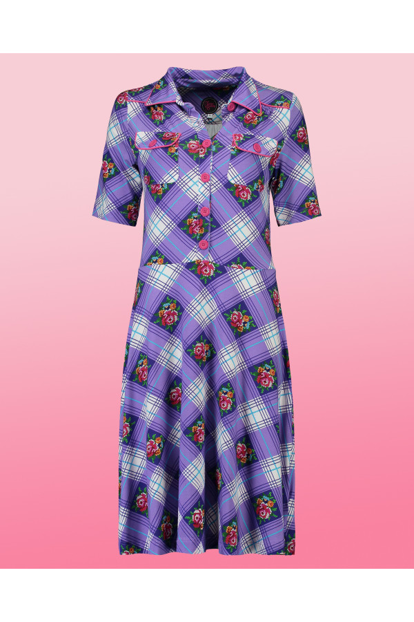 Dress Texas Cottage Purple