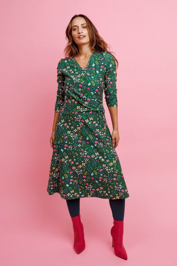 MIDI DRESS LOVELY GREEN