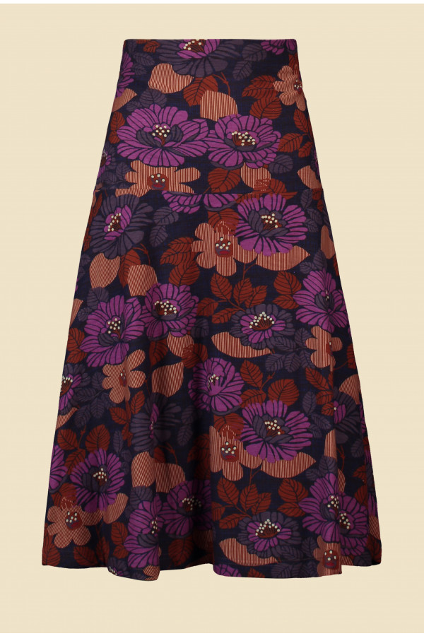 Skirt Paddy Forest Purple